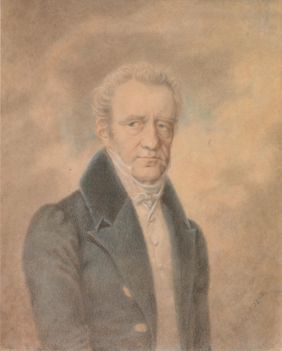 Portrait of Count Karol Czapski