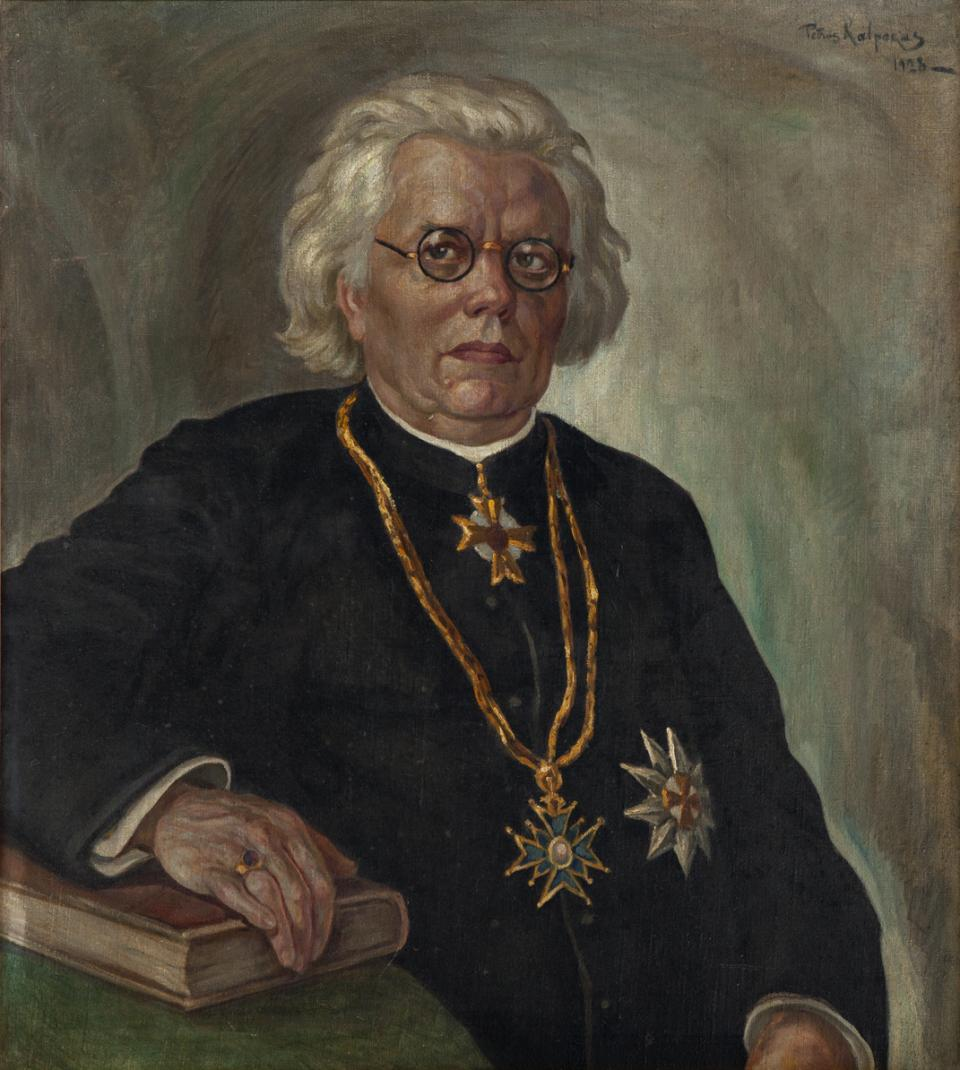 Portrait of Kan. K. Prapuolenis