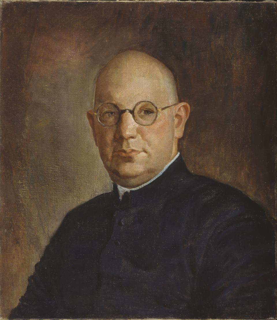 Portrait of the Priest Vincentas Hadlevskis