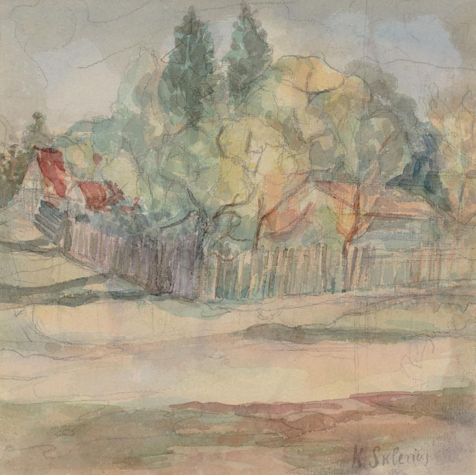 Landscape with a Farmstead