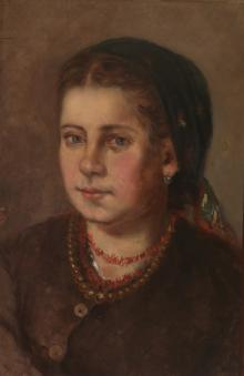 Dressed-up Peasant Woman