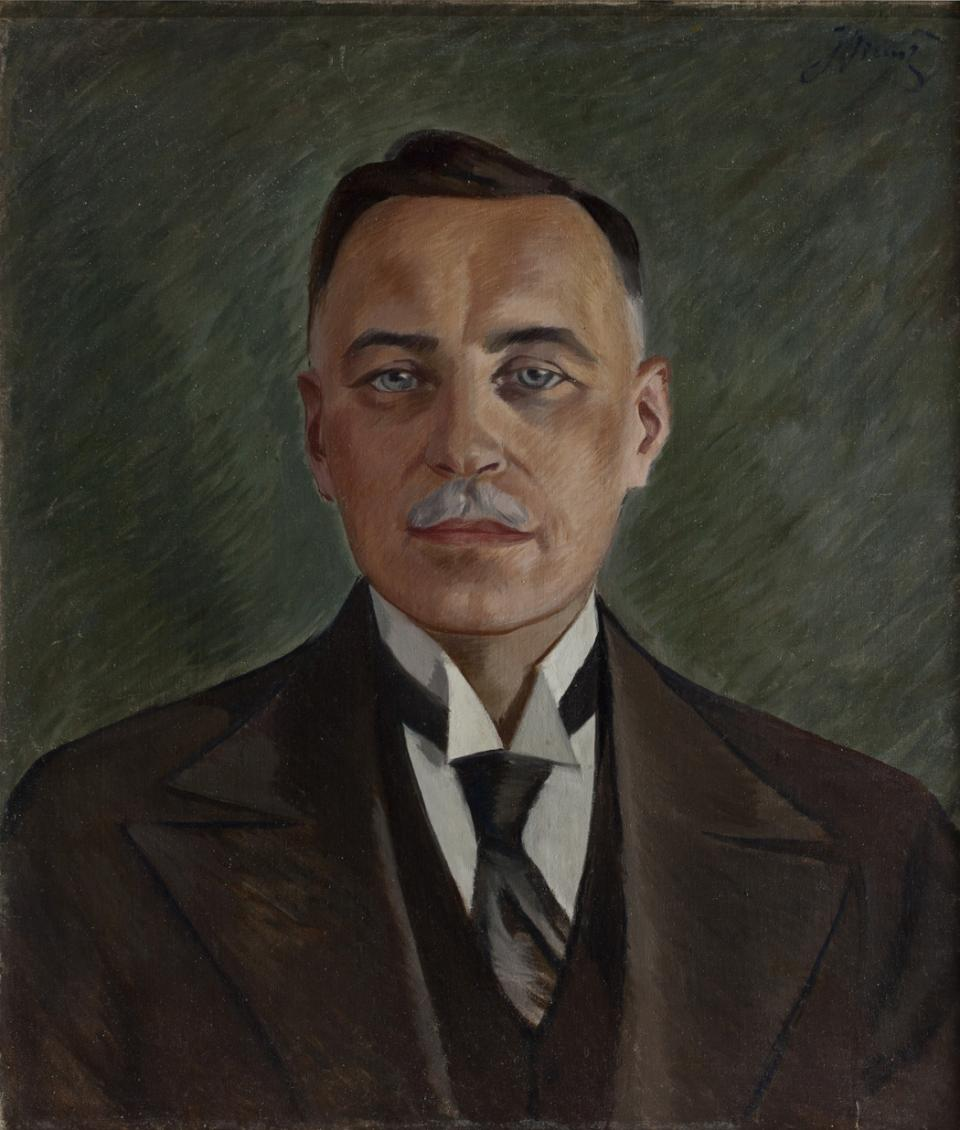 Portrait of Juozas Tūbelis