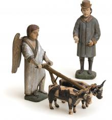 Figurines from the subject of St Isidore