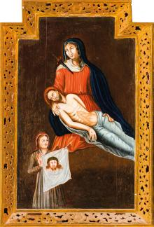 Pietà with St Veronica