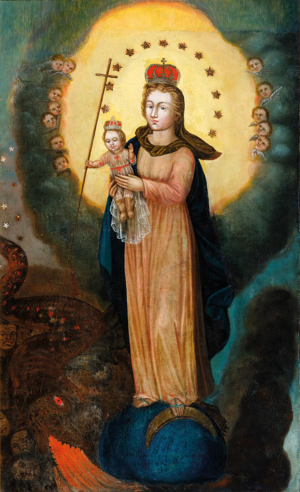 Blessed Virgin Mary and the Infant Jesus