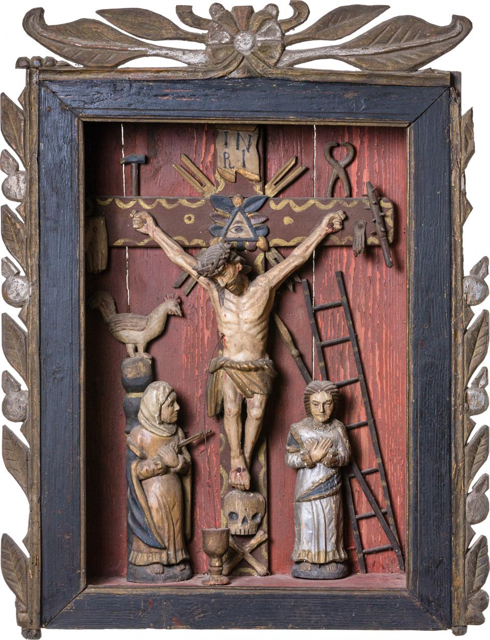Shrine on the theme of the Crucifixion of Jesus