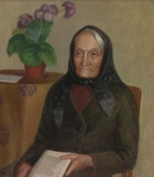 Portrait of the Writer Lazdynų Pelėda